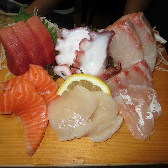 Sashimi @ Mitch's Fish Market & Sushi Bar