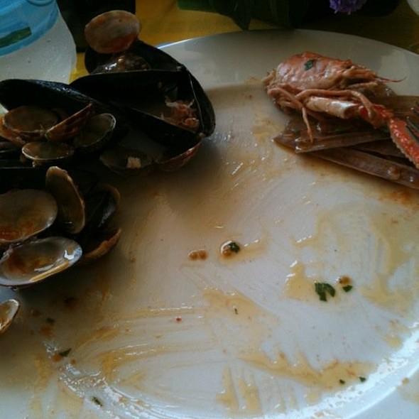 Seafood paccheri @ Palinuro Mare