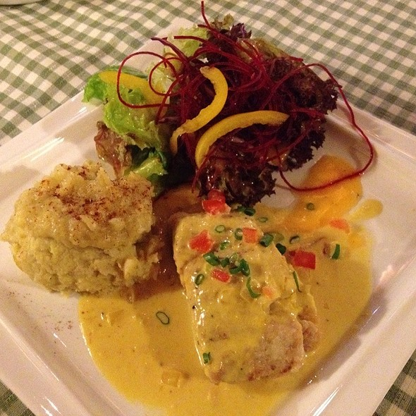 Seared King Fish @ Vintage Bulgaria Restaurant & Bar