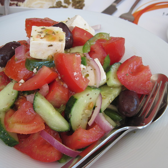 Greek Salad @ Avli tou Thodori