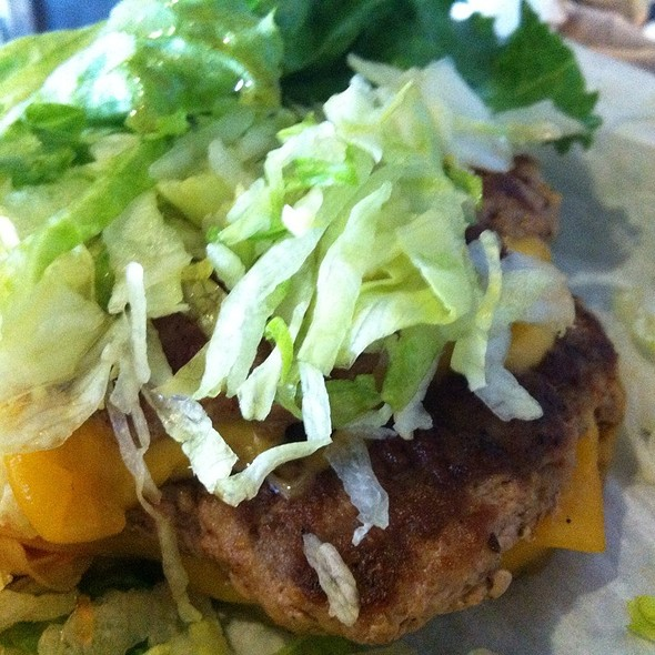 Naked Thai Burger @ Freakin' Unbelieveable Burgers