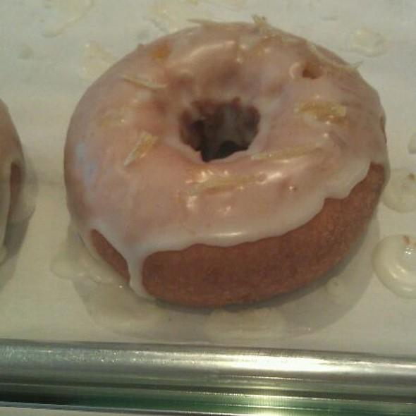 Lemon And Yuzu-curd Cake Donut @ Glazed and Infused