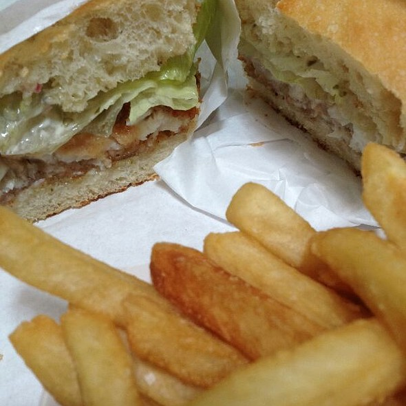 Fish And Chips Sandwich @ Brickhouse Cafe & Bar