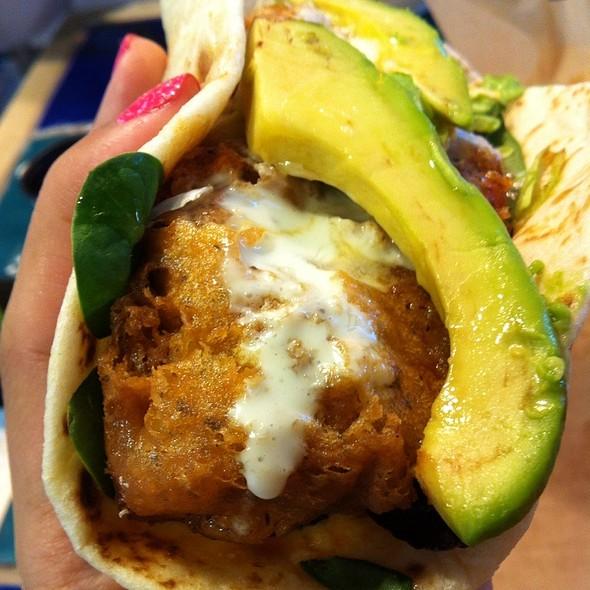 Sesame Soy Crispy Fish Taco @ Rubio's Fresh Mexican Grill