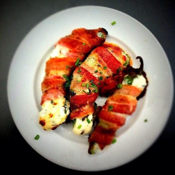 Bacon Wrapped Jalapenos - Lapellah Restaurant, Vancouver, WA