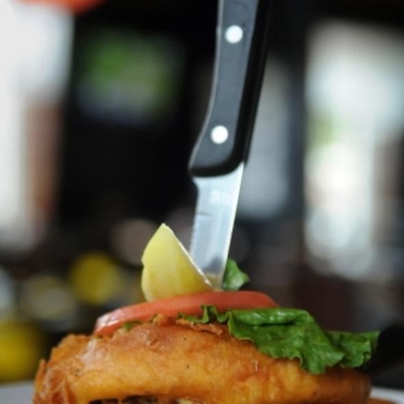 Deep Fried Hamburger @ jerome bettis