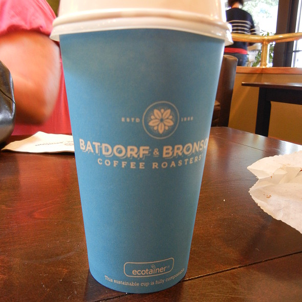 White Chocolate Mocha @ Batdorf & Bronson Coffeehouse
