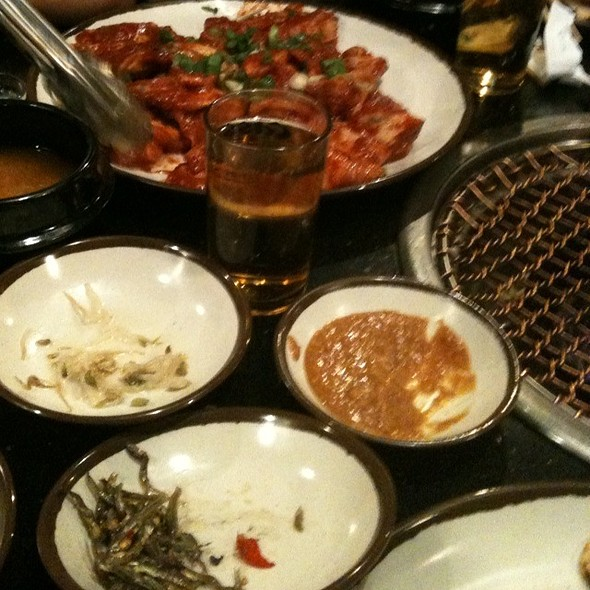 Korean BBQ meat