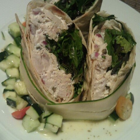 Roasted Albacore Tuna Wrap - Grove Artisan Kitchen at Miramonte Resort & Spa, Indian Wells, CA