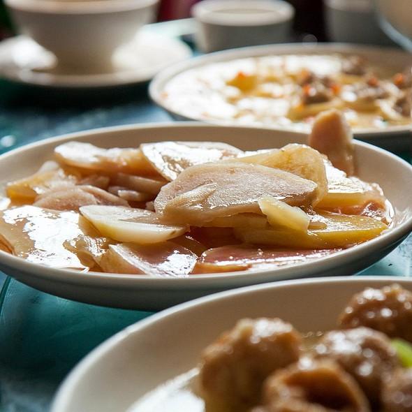 Stir Fried Potato Strips