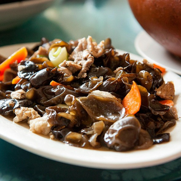 Stir Fried Pork with Black Fungus