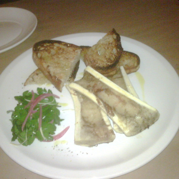 Bone Marrow @ Mayfield Bakery & Cafe