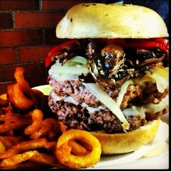 Philly Double Burger