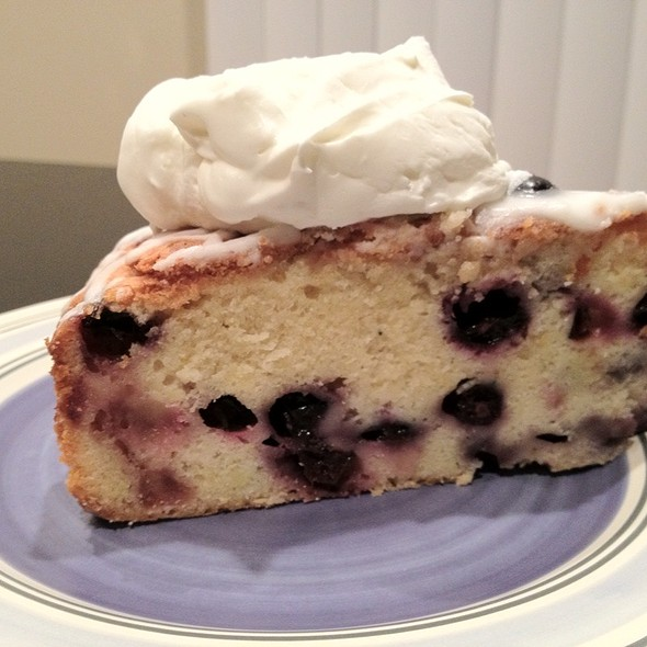 Blueberry Poundcake - The Greek Islands Restaurant, Indianapolis, IN