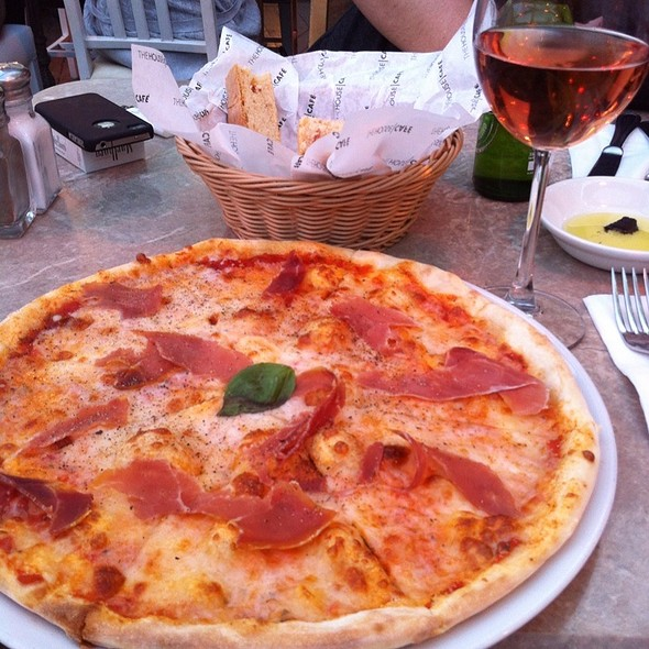 Prosciutto Pizza @ The House Cafe - Ortaköy