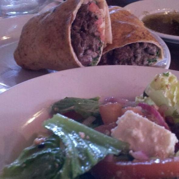 Greek Salad & Shwarma - Canal Bistro - Mediterranean Grill, Indianapolis, IN