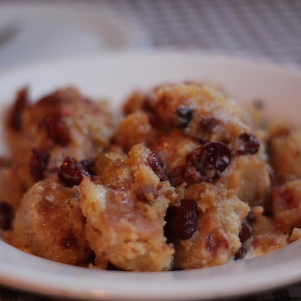 Cherry Bread Pudding @ Augusta
