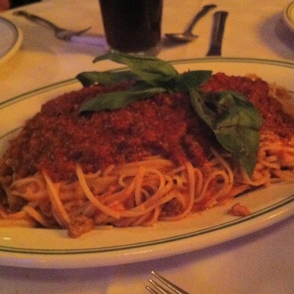 Linguini Bolognese - Tony's Di Napoli – Upper East Side., New York, NY