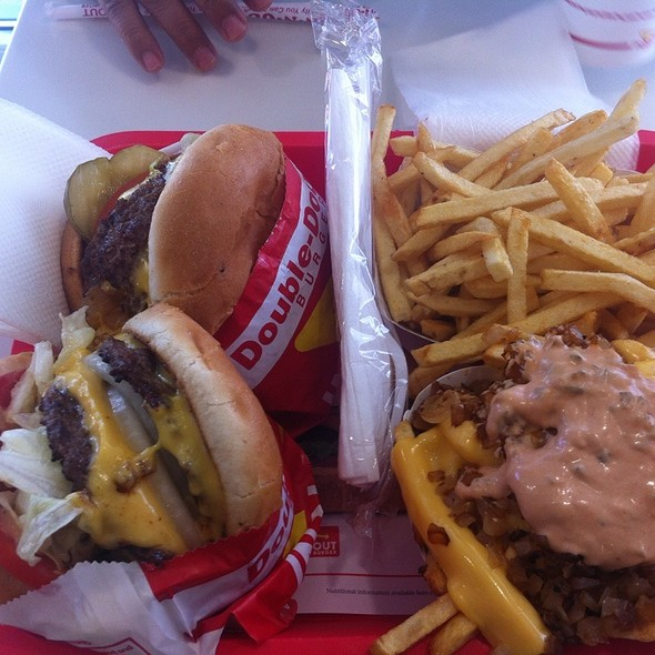 Double-Double Animal Style @ In-N-Out Burger