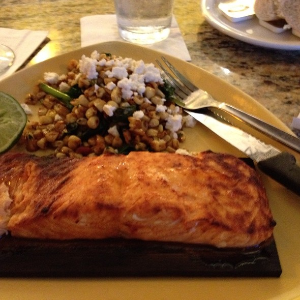 marvelous California Pizza Kitchen San Antonio #7: Cedar Plank Salmon at California Pizza Kitchen