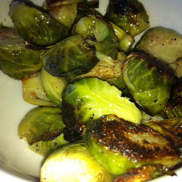 Roasted brussels sprouts @ Homeroom