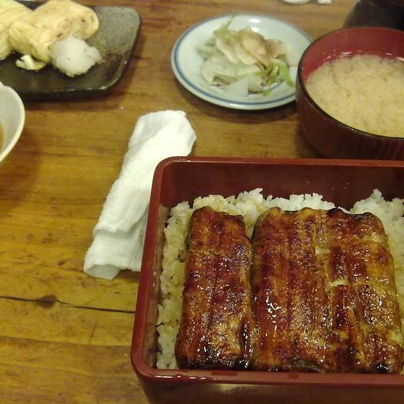 鳗鱼饭 Unagi Bento @ 肥前屋