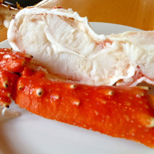 Steamed Alaska Crab @ Sheraton Grande Sukhumvit