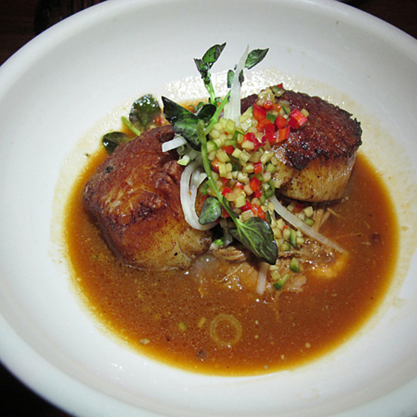 Scallops @ The Girl And The Goat