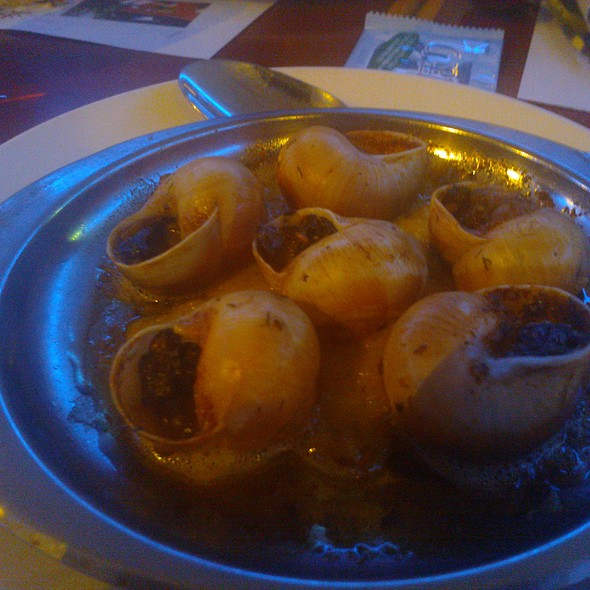 Baked L'escargot @ Marco's Oyster Bar & Grill