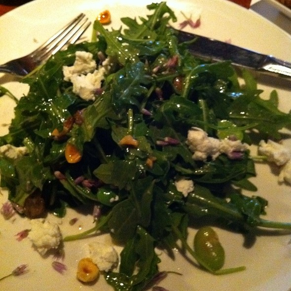 Arugula and Goat Cheese Salad - Acre Restaurant, Chicago, IL