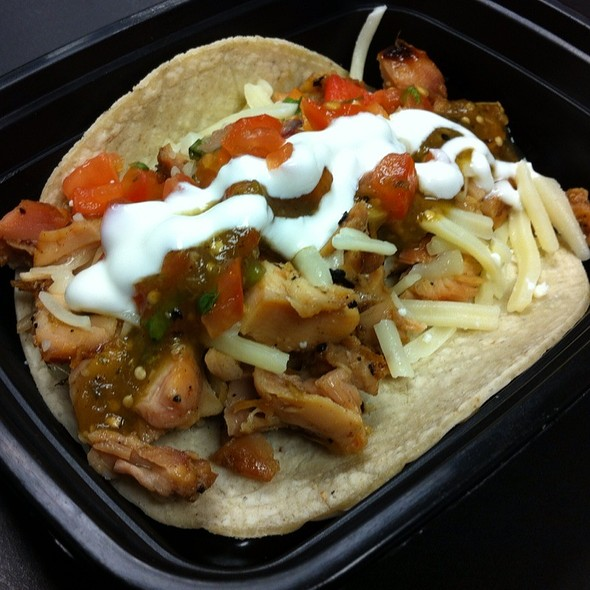 Lemongrass Chicken Taco