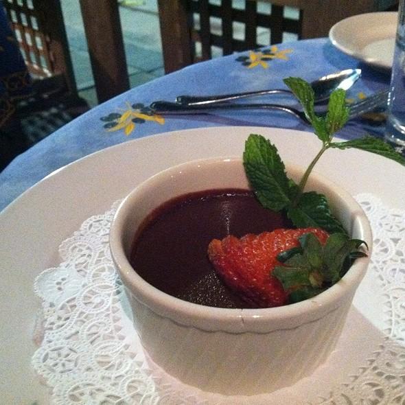 Chocolate Pot de Creme - Le Provencal Bistro, Mamaroneck, NY