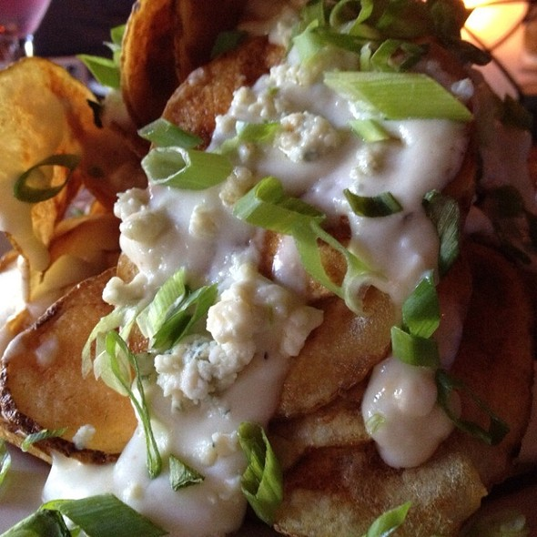 Blue Cheese Skillet Chips - Sullivan's Steakhouse - Houston, Houston, TX