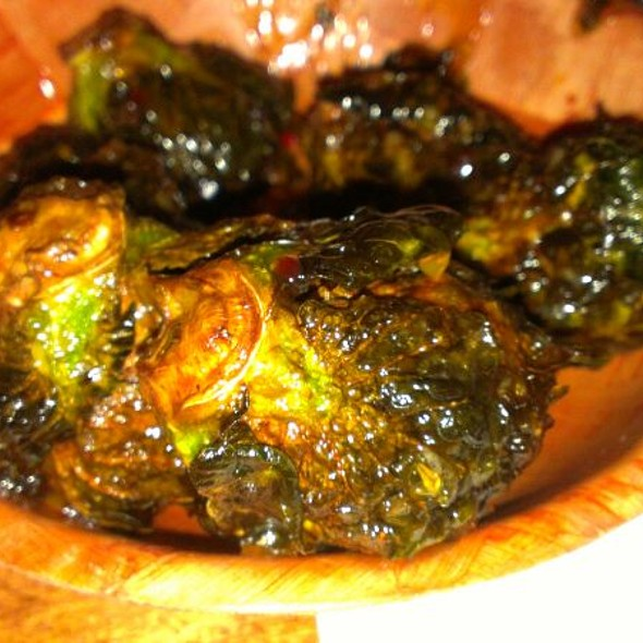 Fried Brussels Sprouts @ The Wing Bar