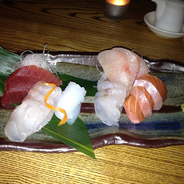 Sashimi Platter @ Nobu Melbourne Crown Casino
