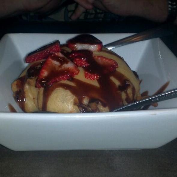Tempura Ice Cream @ Sushi Sake