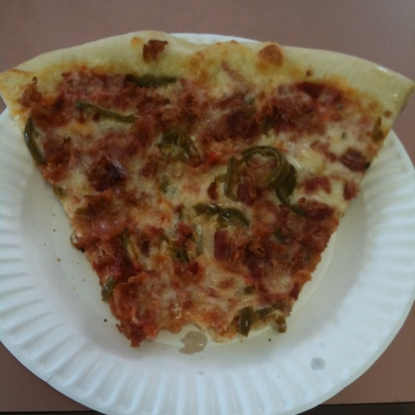 Jalapeno & Bacon Pizza