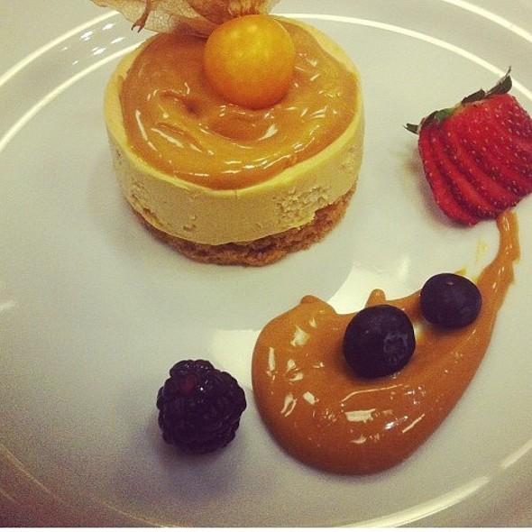 Cheesecake Com Doce De Leite @ Ponto G