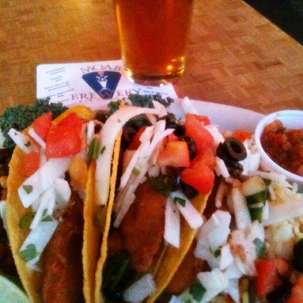 Brewery's Fish Tacos @ Moab Brewery