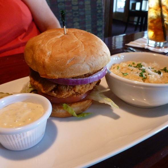 Crab Cake Sandwich @ Harry's Seafood Bar & Grille