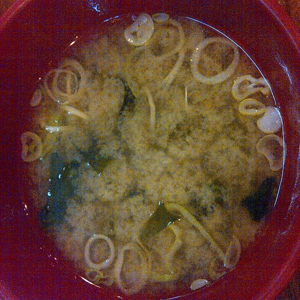 Miso Soup @ Izakaya Kikufuji
