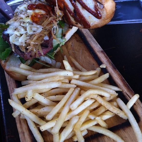 Grilled Sirloin Steak Sandwich @ James Squire Brewhouse