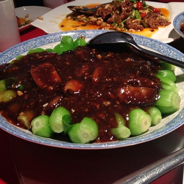 Braised Bok Choy With Shiitake Mushrooms @ Ichiban Restaurant