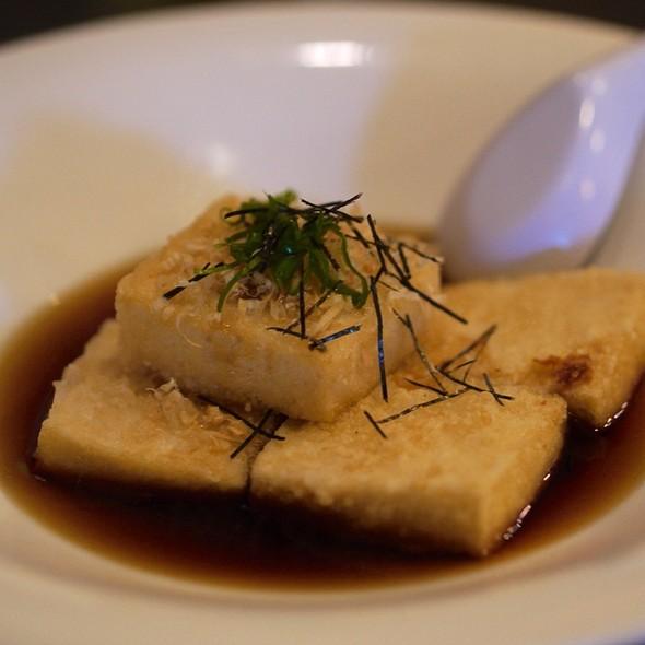 how to make agedashi tofu