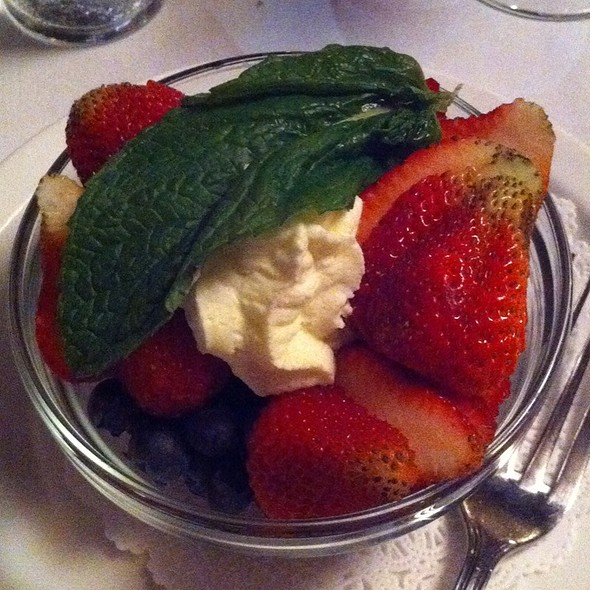 Mixed Berries - John's Grill, San Francisco, CA