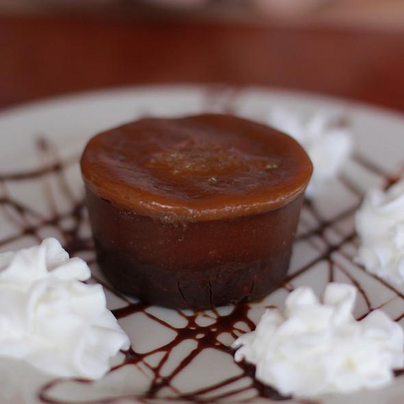 Salted Caramel and Chocolate Ganache Tarte @ Chanterelle