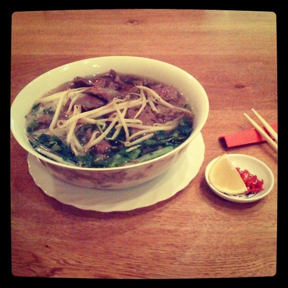 Beef Pho @ Asia Express