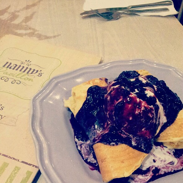 Blueberry Cheese Pancake