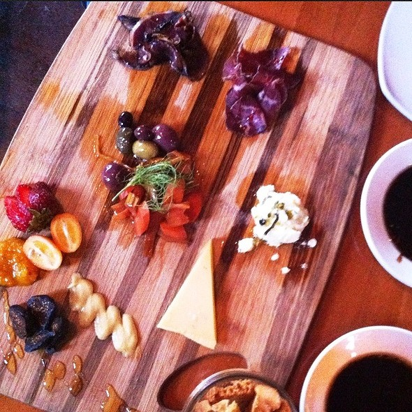 Duck And Beef Proscuitto With Chefs Selection Of Cheeses - Luna Red, San Luis Obispo, CA