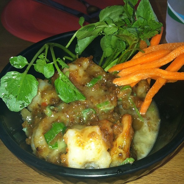Mango Bang Bang Shrimp @ BERNIE'S L.A. CAFE